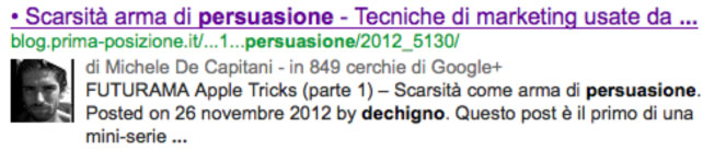 Immagine del profilo google plus grazie all'authorship