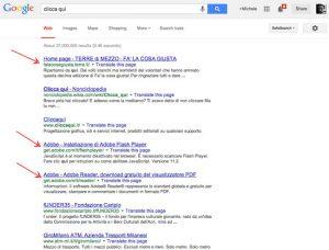 L'importanza delle anchortext dei link come fattore di ranking su Google