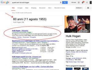 Query informativa dove Google Hummingbird risponde a significati impliciti e espliciti