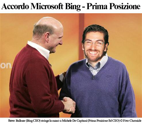 Accordo Microsoft - Prima Posizione