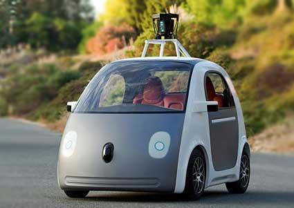 Google Car : L'auto che si guida da sola
