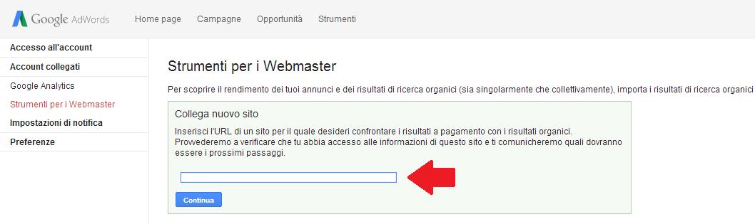 webmastertools - adwords- dominio -2